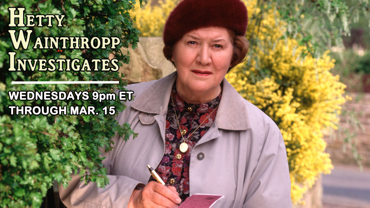 Hetty Wainthropp Investigates on VisionTV