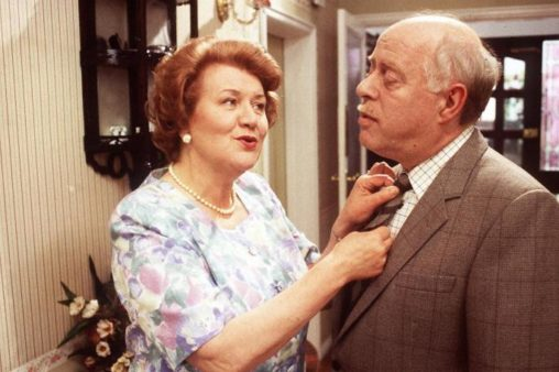 Keeping Up Appearances: Patricia Routledge as Hyacinth Bucket and Clive Swift as Richard Bucket