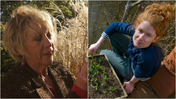 Life in a Cottage Garden + The Edible Garden - Carol Klein & Alys Fowler