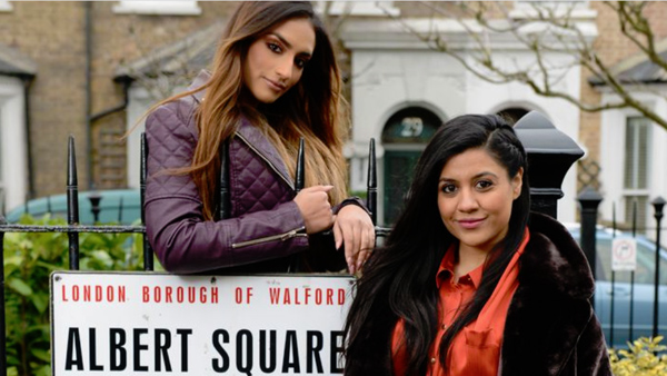 EastEnders Set 304 - July 2019 - Iqra and Habiba Ahmed