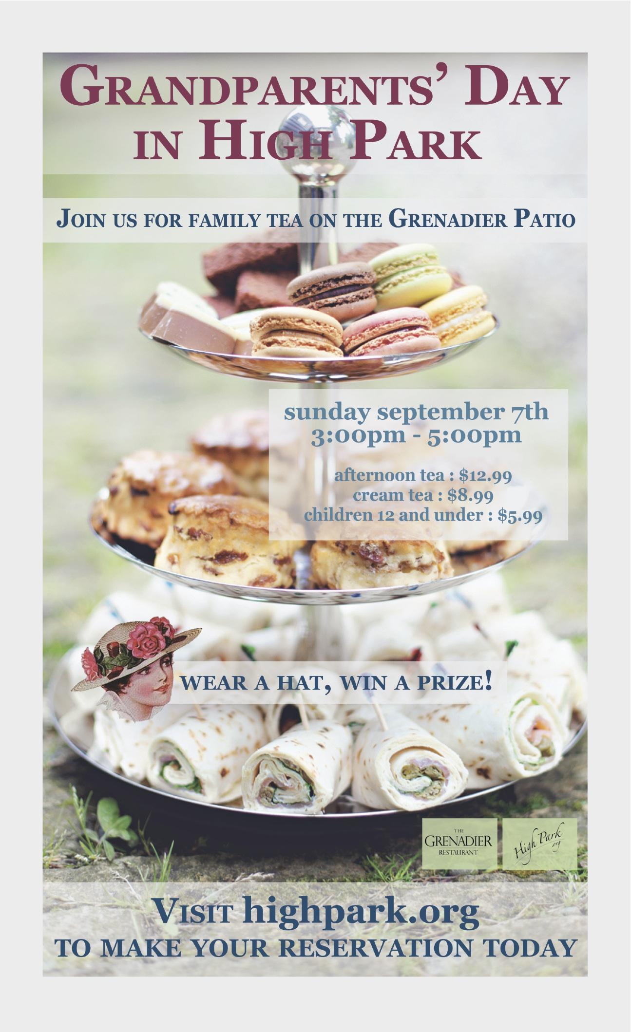 High Park Grandparents' Day Poster 2014 - PDF