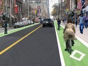 Bloor-Bike Lane