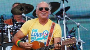 performs onstage at Jimmy Buffett & Friends: Live from the Gulf Coast, a concert presented by CMT at on the beach on July 11, 2010 in Gulf Shores, Alabama.