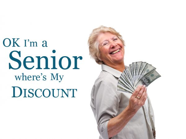 what restaurants offer senior citizen discounts