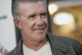 """Actor Alan Thicke arrives for the premiere of """"National Lampoon Presents One, Two, Many"""" in Los Angeles April 10, 2008. REUTERS/Danny Moloshok"""