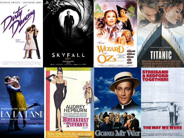 Top movie songs of all time