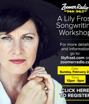 Join Lily Frost in Her Song Writing Workshop