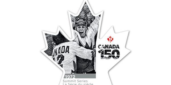 Team Canada 72 Stamp