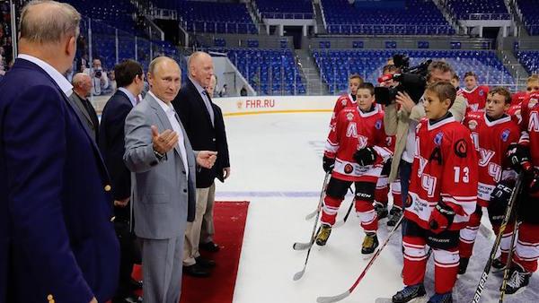 Team Canada '72 - Putin