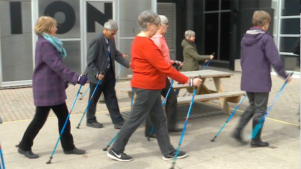Seniors Nordic Walking