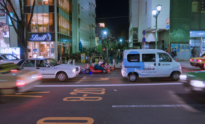 Shibuya Mario Kart