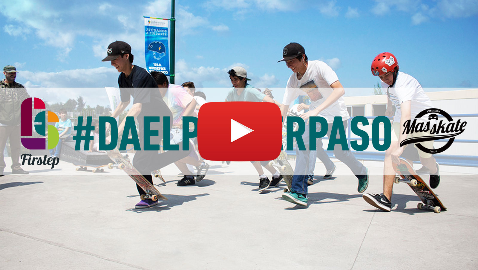 Más Skate - Integrando a través del Skate