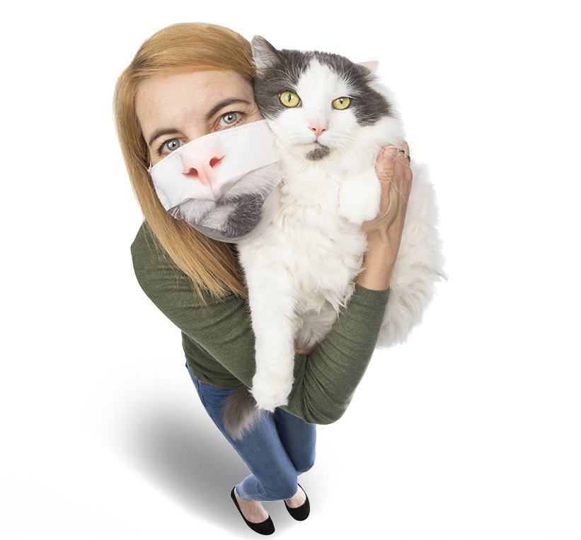 SharonDominick_posing with cat