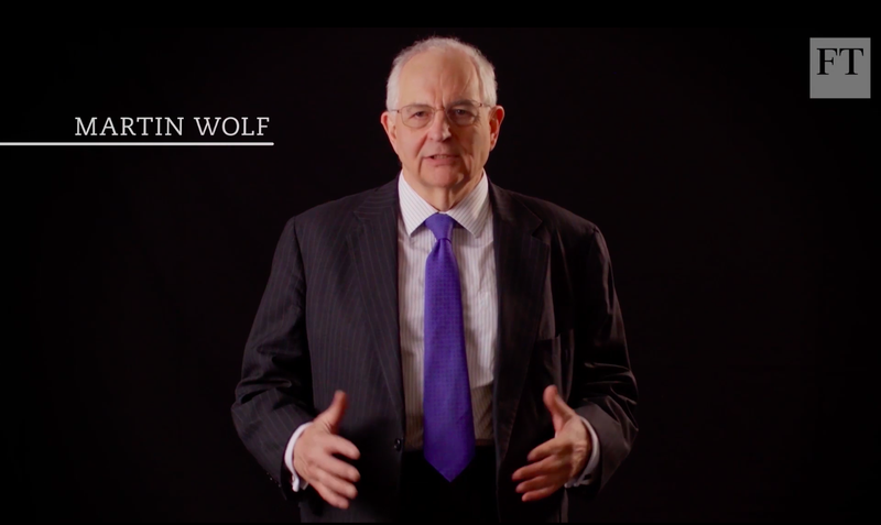 Screenshot of Martin Wolf in Cybercrime's threat in a cashless world video