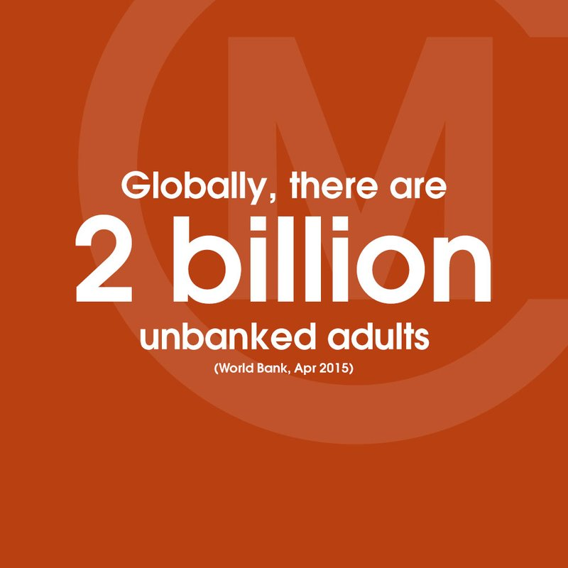World Bank Unbanked STAT BLOCK orange