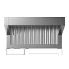 Campana de condensación con ventilador para horno eléctrico 6 y 10 GN 1/1