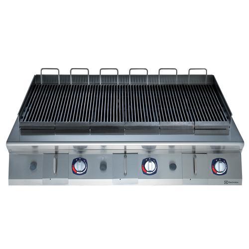 Parrilla/charbroiler de sobremesa a gas hp 1200mm