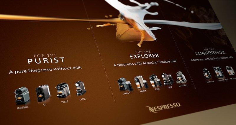 Nespresso Segmentation Example Landscape