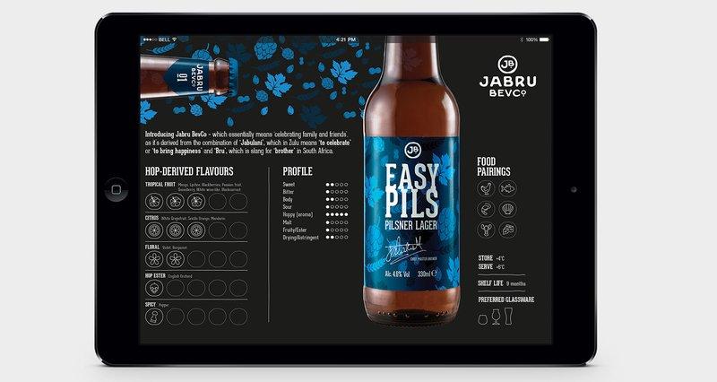 Jabru BevCo - Tasting Card - website