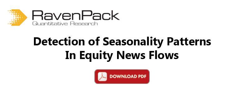 Detection of Seasonality