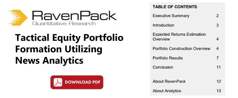 Equity Portfolio Formation