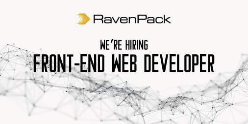 Hiring Front End Web Developer