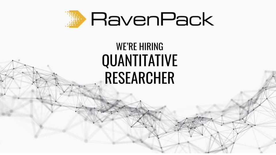 Quantitative Researcher