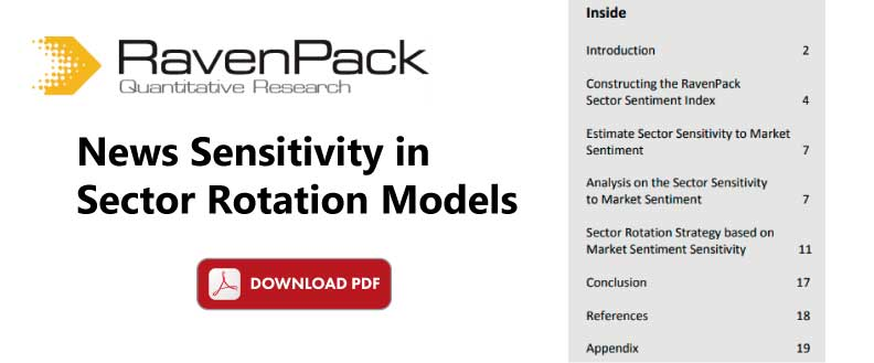 Sector Rotation Models