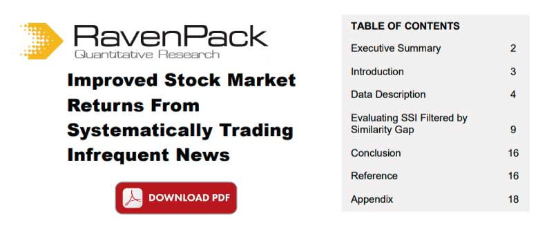 Systematically Trading Infrequent News