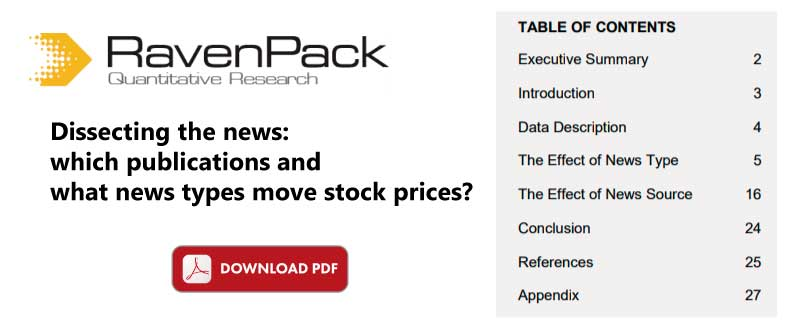 moving stock prices with news