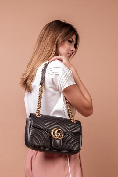 Bolsa Marmont Chain M Gucci