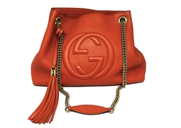 Bolsa Soho Shoulder Chain Orange