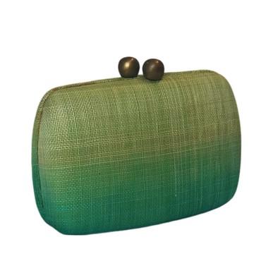 Clutch Araci Green Serpui Marie