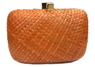 Clutch Palira Orange Serpui Marie