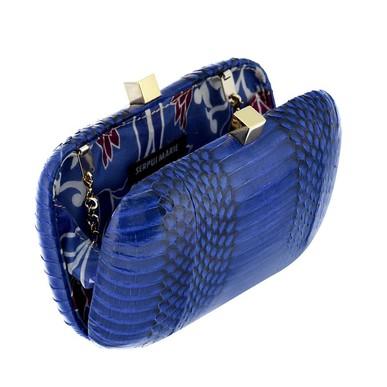 Clutch Piton Azul Serpui Marie