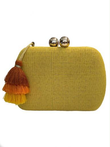 Clutch Salu Amarela Basic Collection