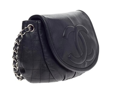 Bolsa Half Moon Caviar Large Chanel