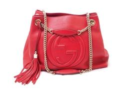 Bolsa Soho Shoulder Chain Red