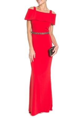 Vestido Adelita Vermelho