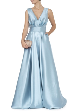 Vestido Alba Light Blue