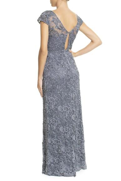 Vestido Albana Blue Adrianna Papell