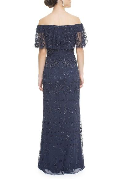 Vestido Aldara Dark Blue Adrianna Papell