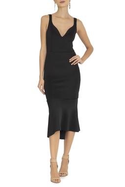 Vestido Aline Midi Black