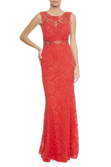Vestido Amalfi Red Basic Collection