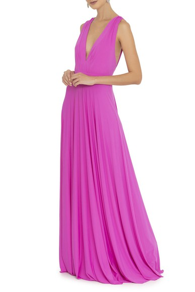 Vestido Amaluna Pink Anamaria Couture