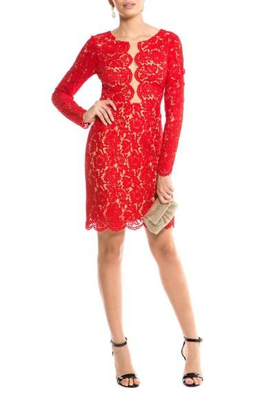 Vestido Amarilis Vermelho Jodri