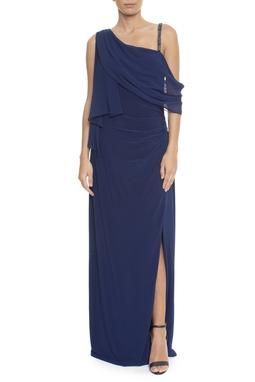 Vestido Ammoe Blue