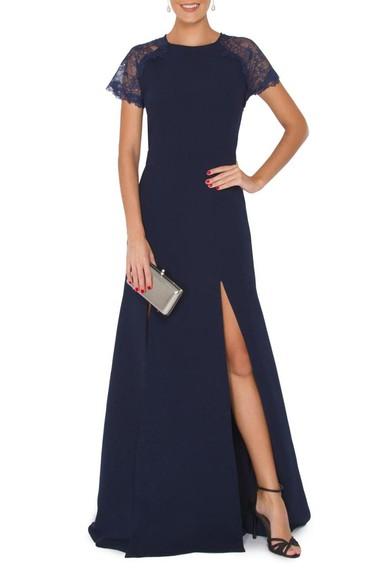 Vestido Amoris Blue Lita Mortari