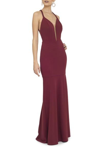 Vestido Astapor Marsala Basic Collection