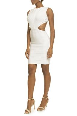 Vestido Auke White